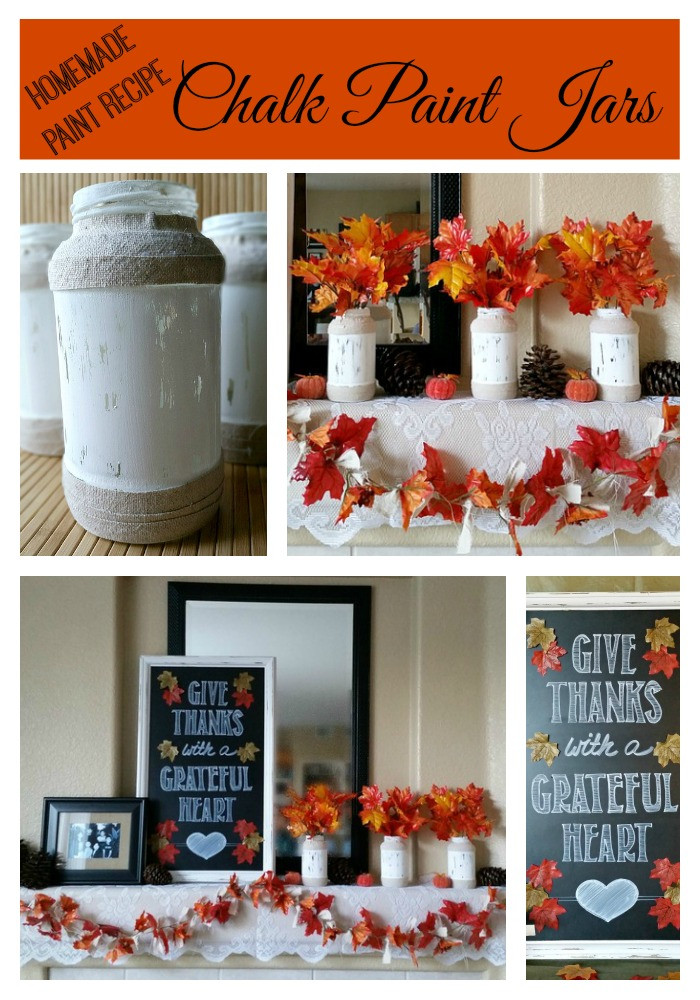 Best ideas about DIY Glass Paint Recipe . Save or Pin Homemade Chalk Paint Recipe Jars – My Pinterventures Now.