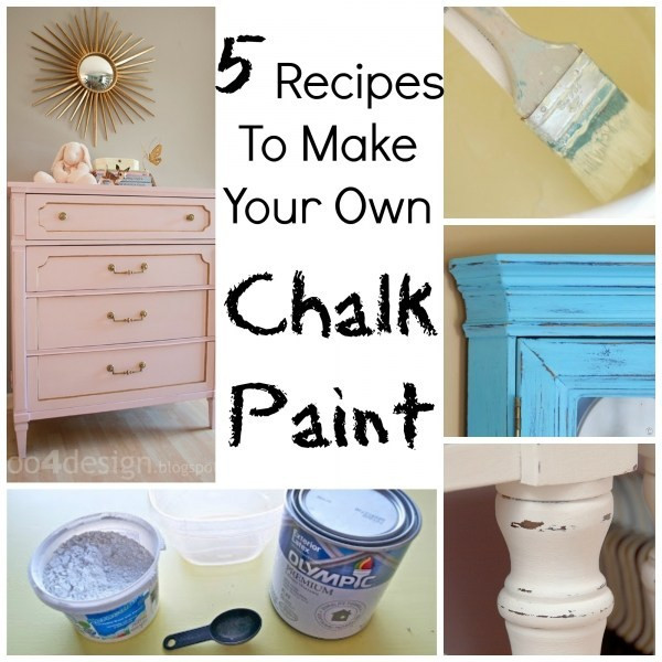 Best ideas about DIY Glass Paint Recipe . Save or Pin 5 Recipes To Make Your Own Chalk Paint – Craft Gossip Now.