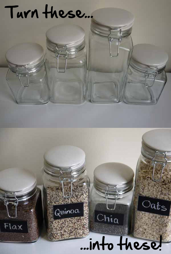 Best ideas about DIY Glass Paint Recipe . Save or Pin DIY Chalkboard Paint Glass Jars Now.