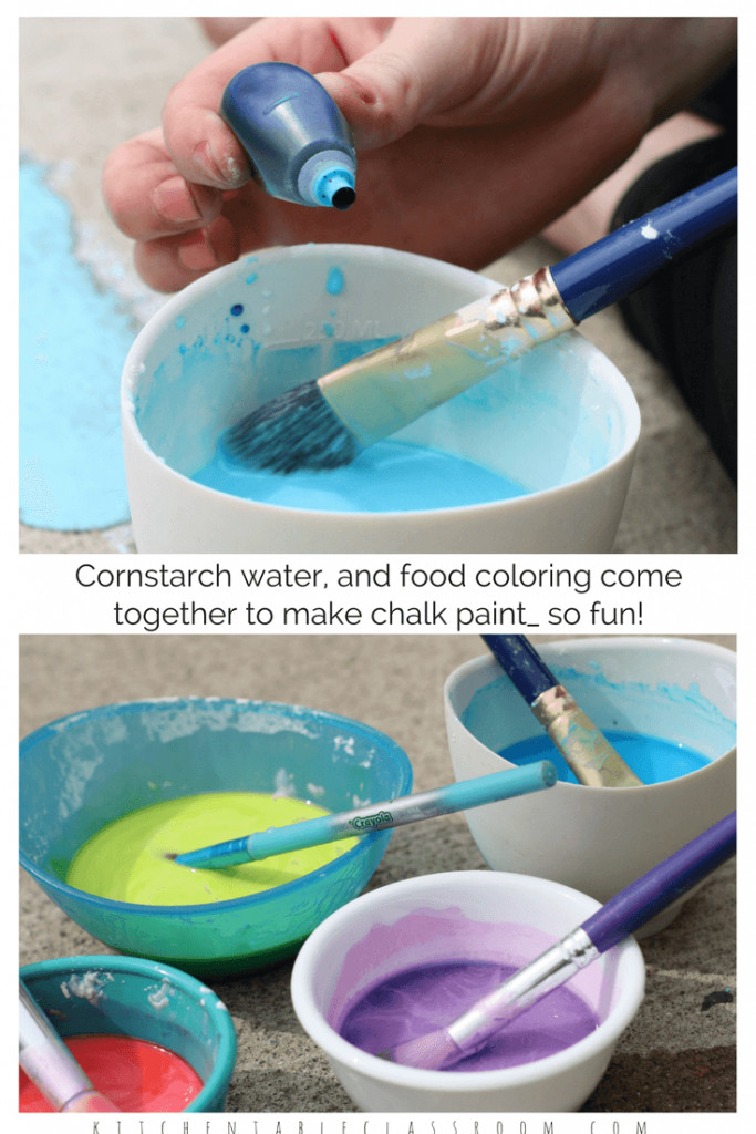Best ideas about DIY Glass Paint Recipe . Save or Pin Sidewalk Chalk Paint A DIY Recipe The Kitchen Table Now.