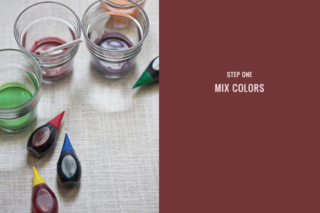 Best ideas about DIY Glass Paint Recipe . Save or Pin DIY Stained Glass Votives Now.