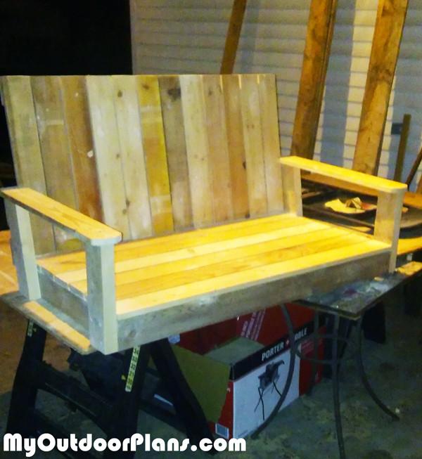 Best ideas about DIY Glider Bench . Save or Pin DIY Glider Bench MyOutdoorPlans Now.