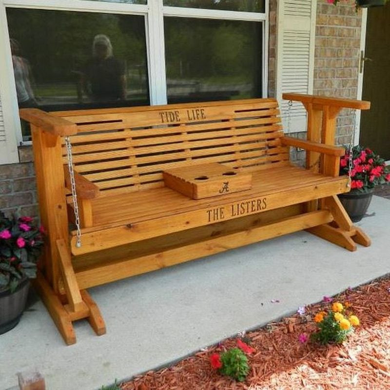 Best ideas about DIY Glider Bench . Save or Pin How to Build a Glider Swing Now.