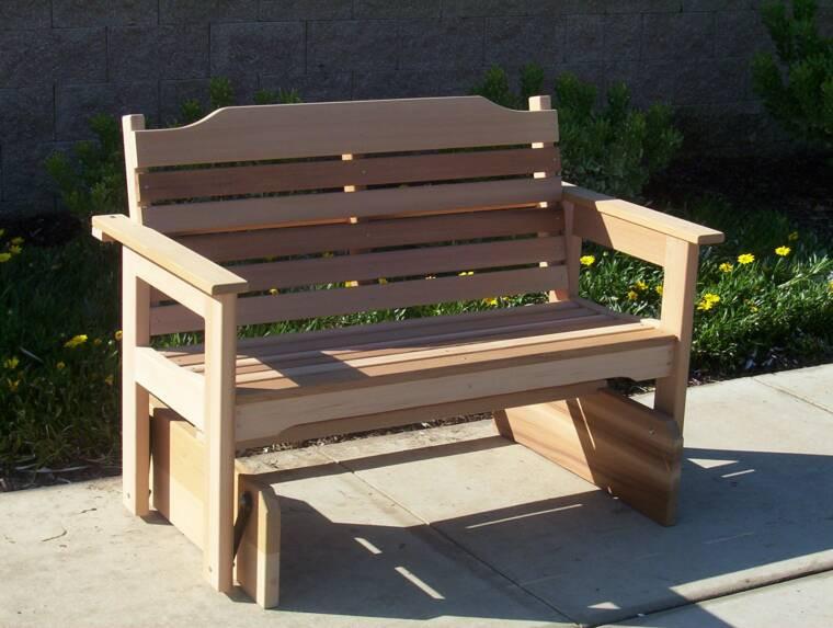 Best ideas about DIY Glider Bench . Save or Pin Woodwork Glider Bench Diy PDF Plans Now.