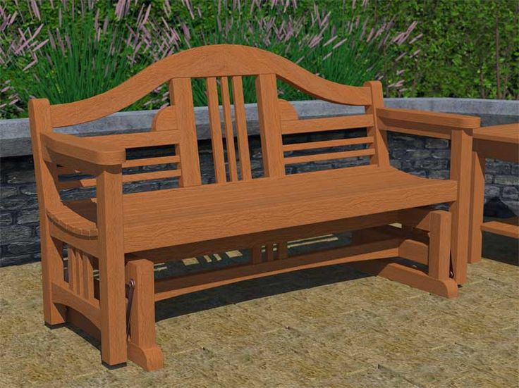 Best ideas about DIY Glider Bench . Save or Pin 18 best images about Glider Bench Plans on Pinterest Now.