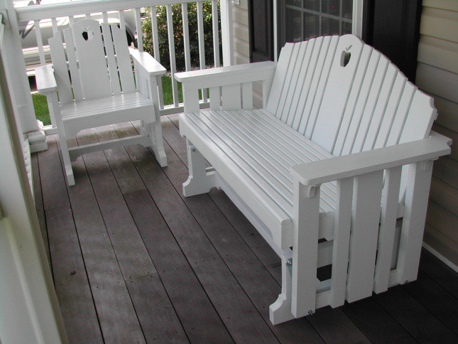 Best ideas about DIY Glider Bench . Save or Pin DIY Adirondack Glider Bench Plans PDF Download handmade Now.