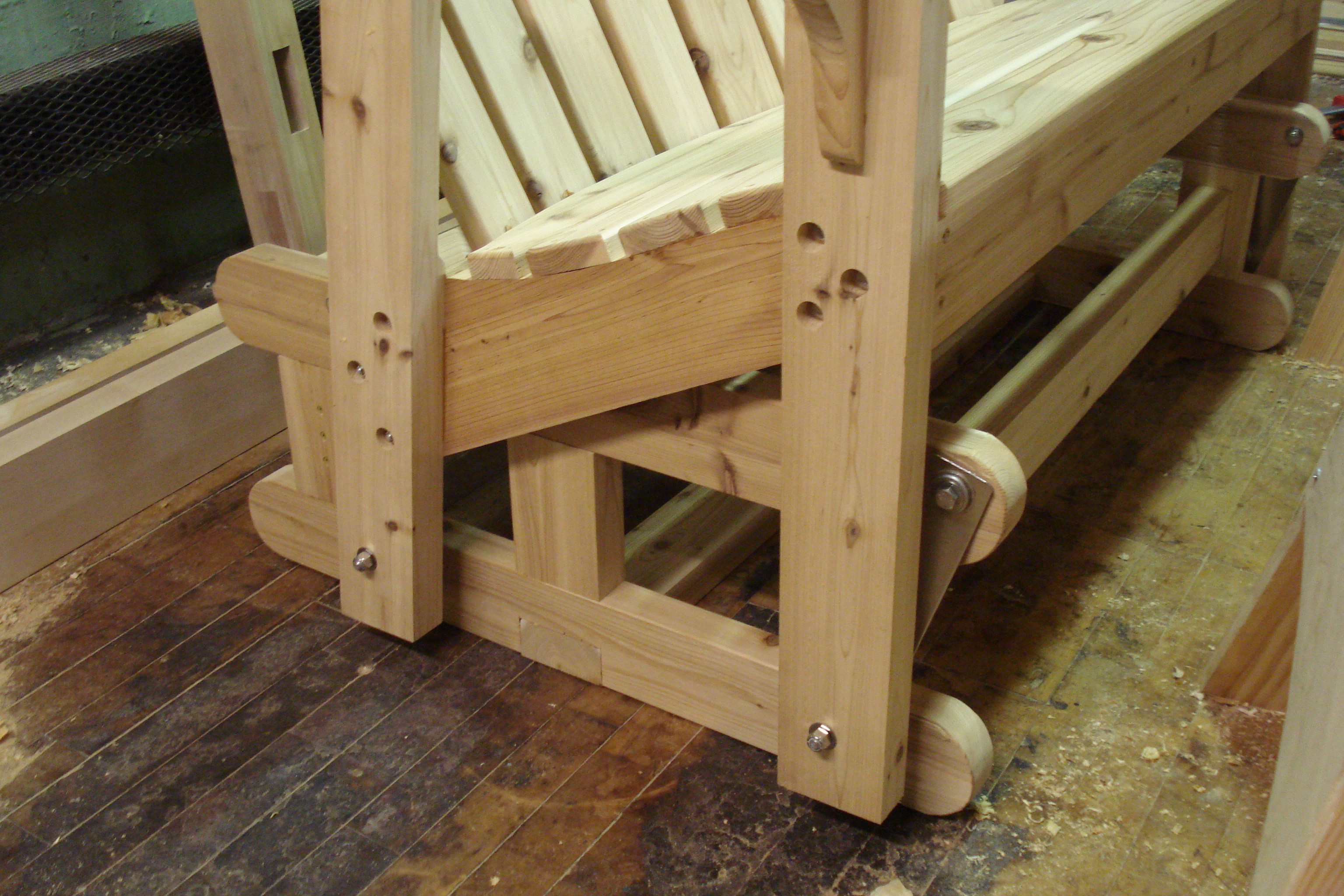 Best ideas about DIY Glider Bench . Save or Pin Build Glider Bench Plans DIY PDF used woodwork machinery Now.