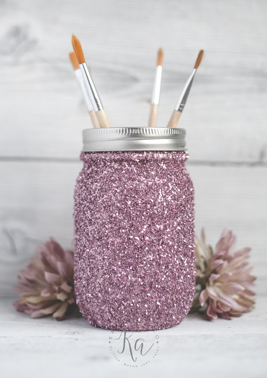 Best ideas about DIY Glitter Jar . Save or Pin DIY Glitter Mason Jar Tutorial KA Styles Now.