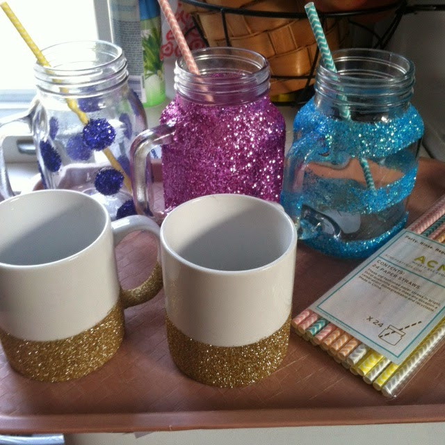 Best ideas about DIY Glitter Jar . Save or Pin Mudpipes and Glitter DIY Glitter Mugs & Mason Jars Tutorial Now.