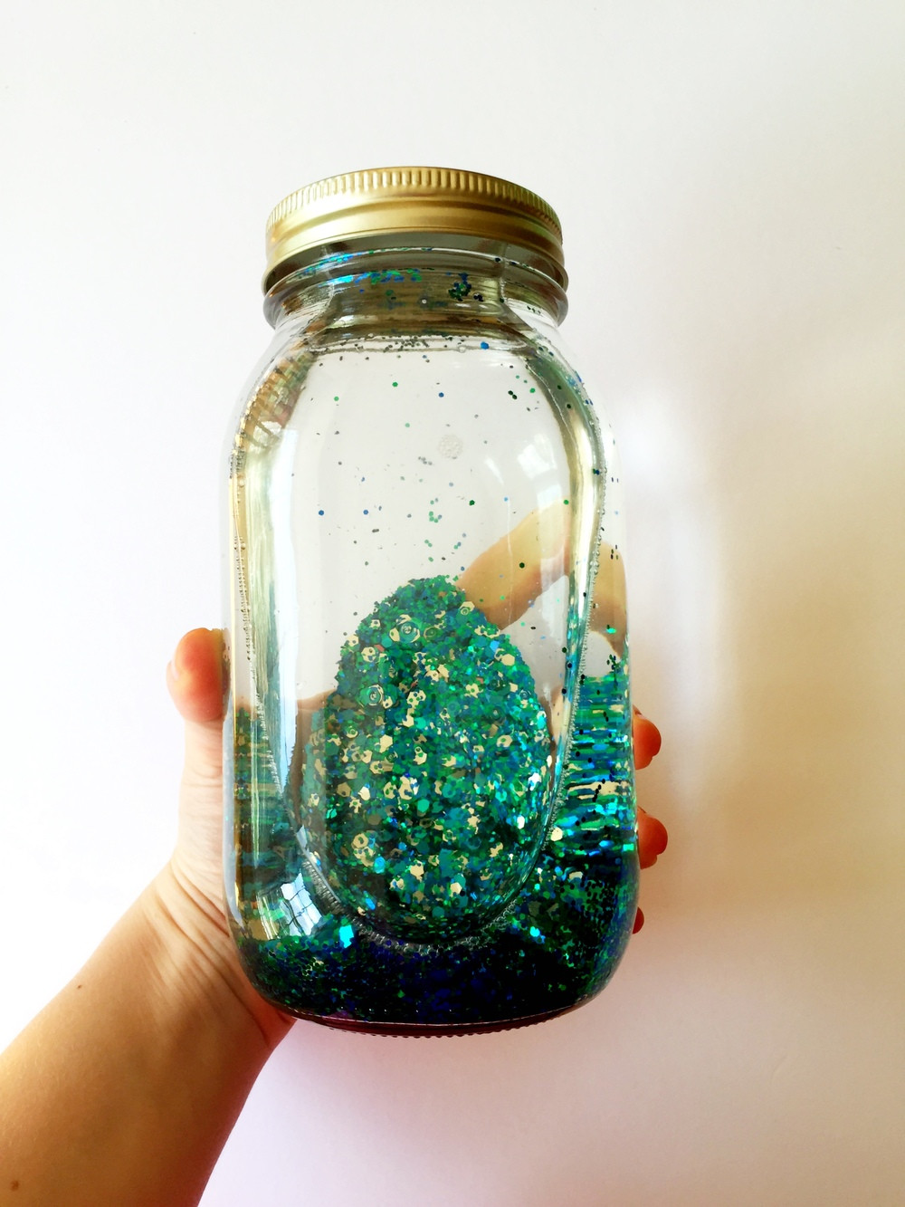 Best ideas about DIY Glitter Jar . Save or Pin DIY Mindfulness Glitter Jar — Joyfully Jenna Now.