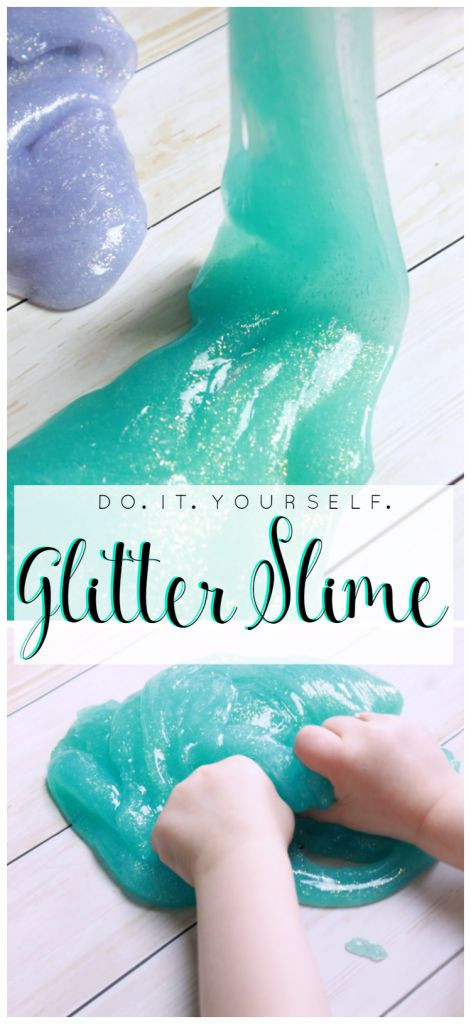 Best ideas about DIY Glitter Slime . Save or Pin Glitter slime Glitter and Aqua on Pinterest Now.