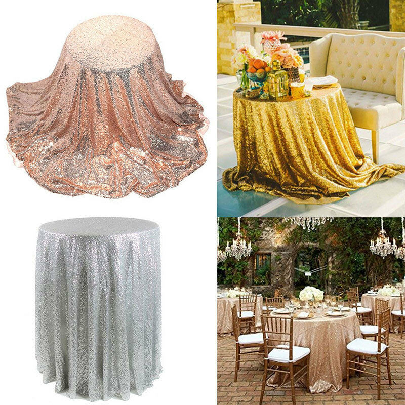 Best ideas about DIY Glitter Tablecloth . Save or Pin New Sparkle Table Cloth Round Bling Sequin Tablecloth Now.