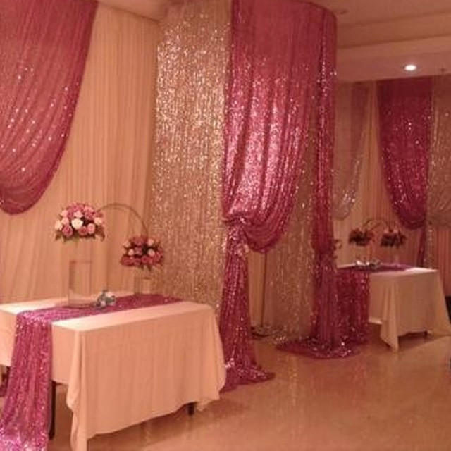Best ideas about DIY Glitter Tablecloth . Save or Pin US STOCK Sequin Fabric diy for graphy Backdrop Now.