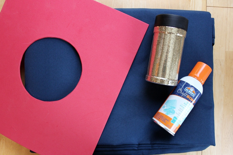 Best ideas about DIY Glitter Tablecloth . Save or Pin Super Simple DIY Polka Dot Tablecloth Now.