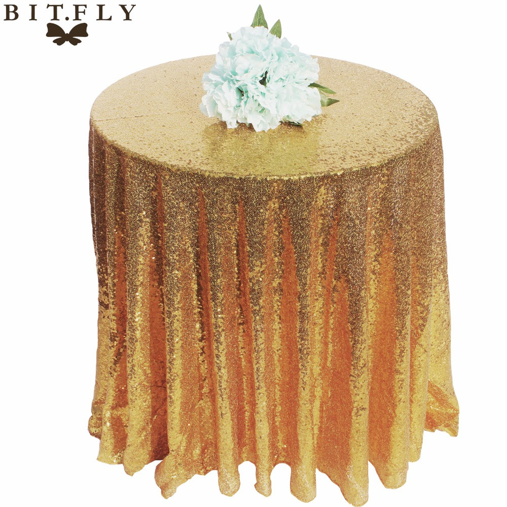 Best ideas about DIY Glitter Tablecloth . Save or Pin 1PC Sparkly Glitter Sequin Round Tablecloth Table Cloth Now.