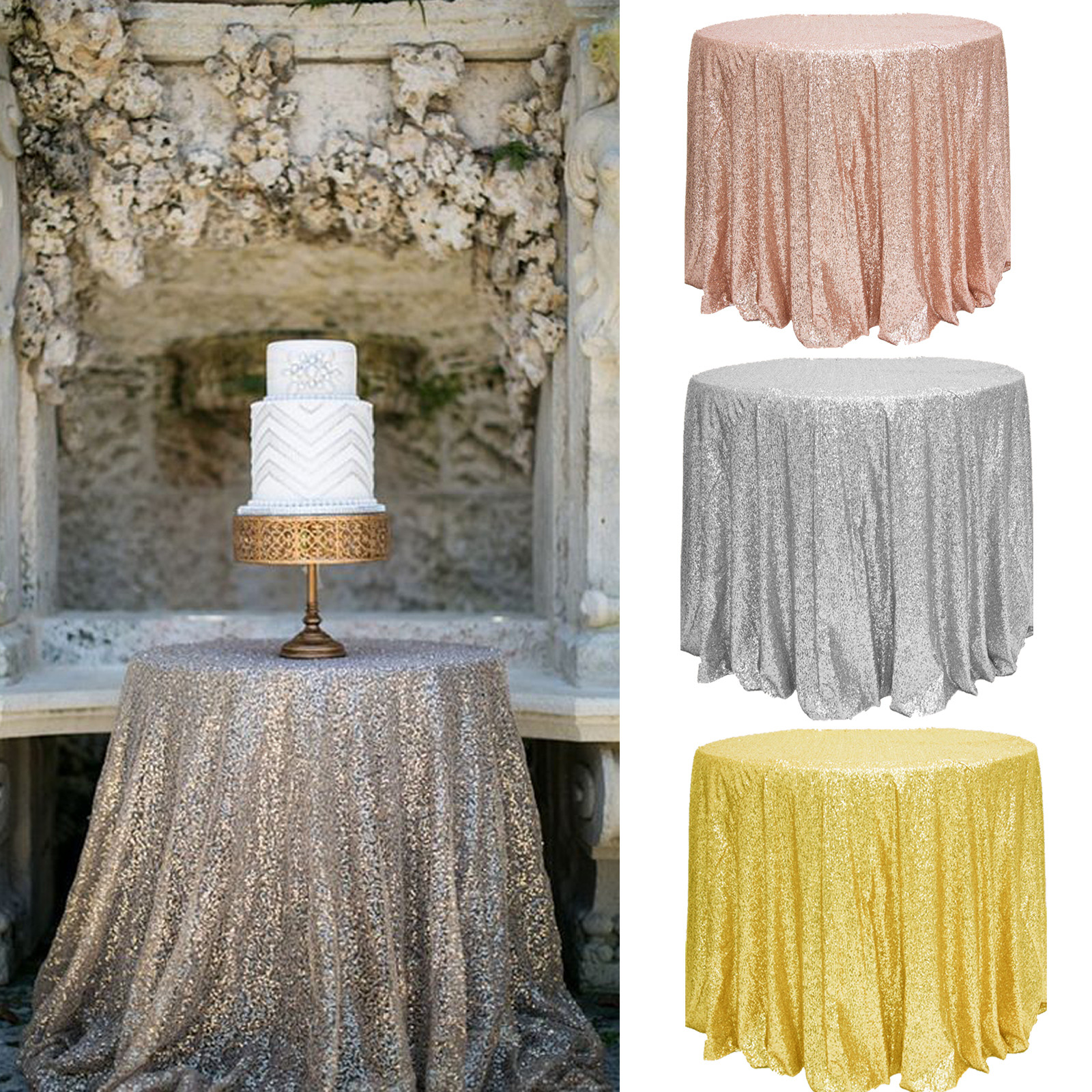 Best ideas about DIY Glitter Tablecloth . Save or Pin Sparkly Glitter Sequin Tablecloth Bling Table Cover Table Now.