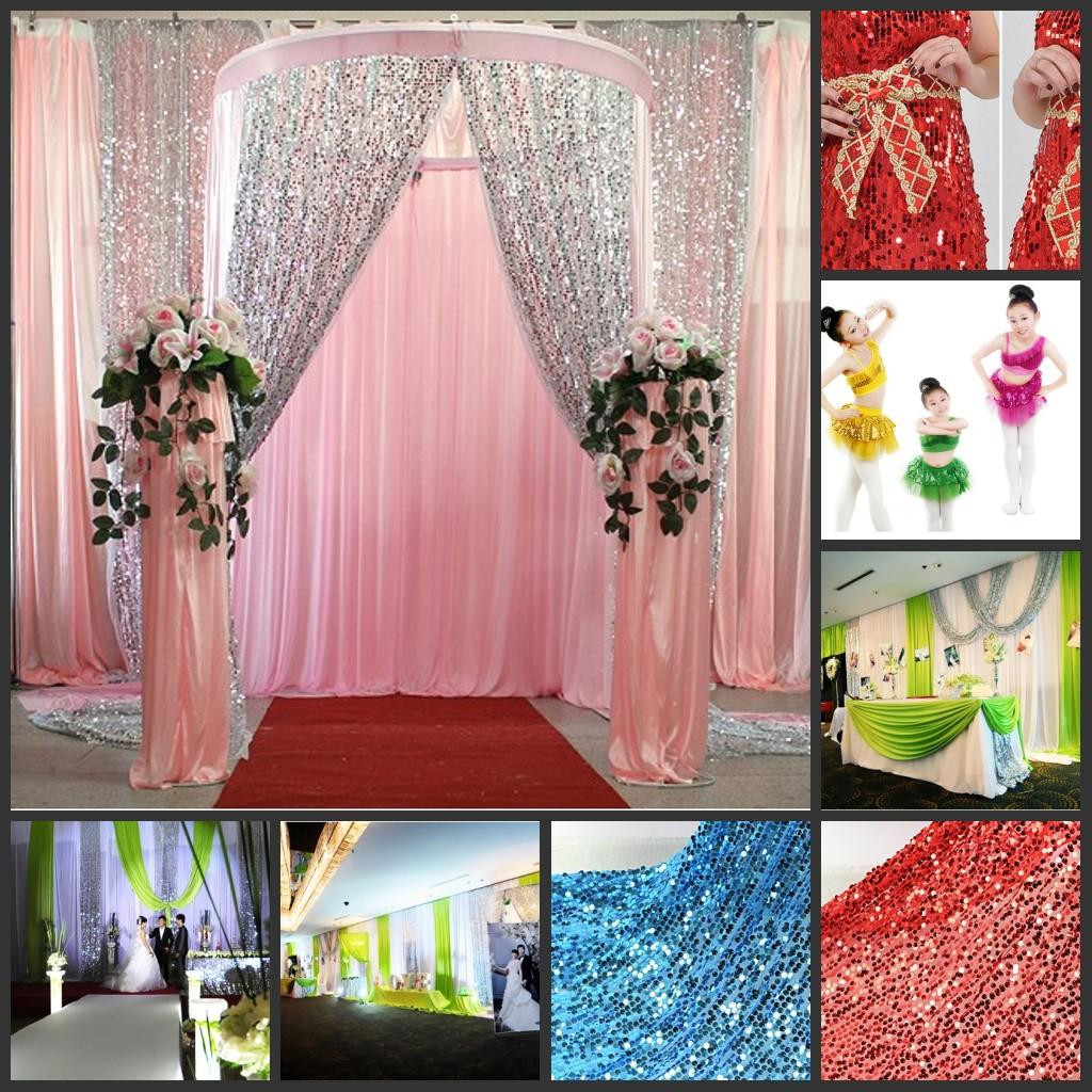 Best ideas about DIY Glitter Tablecloth . Save or Pin Multicolor Glitter Bling Sequins Cloth Diy Wedding Now.