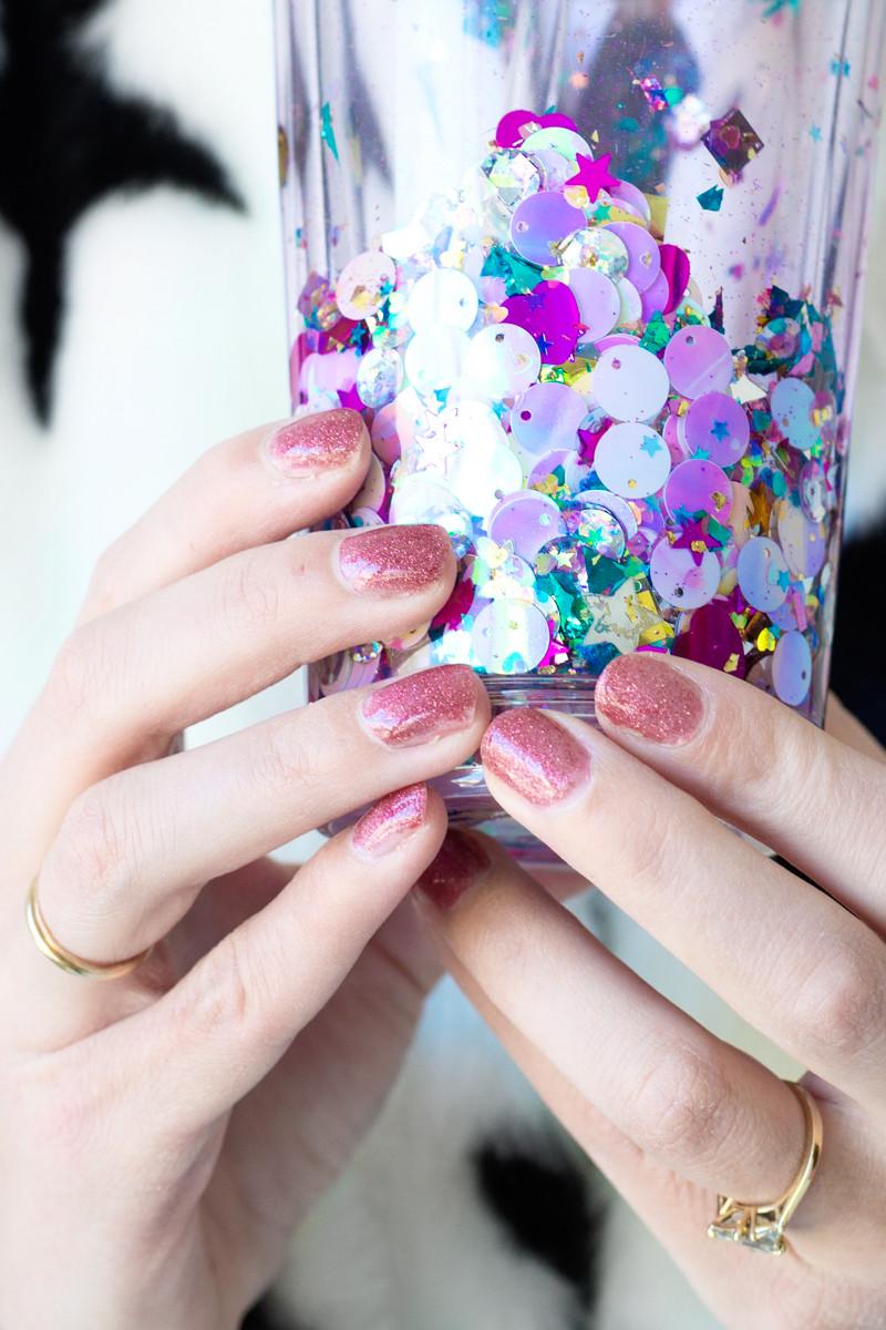Best ideas about DIY Glitter Tumbler . Save or Pin DIY Floating Glitter Tumbler Studio DIY Now.