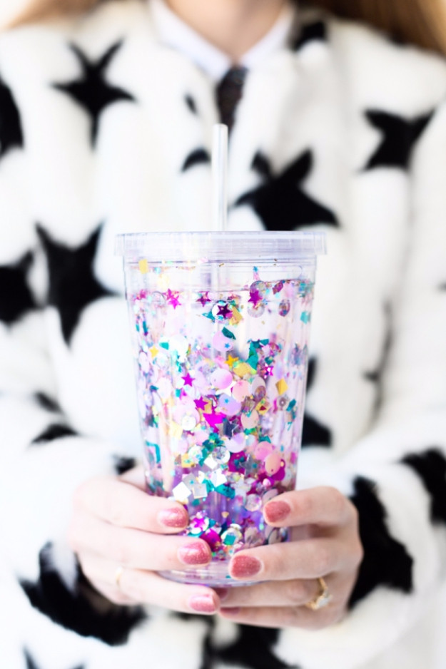 Best ideas about DIY Glitter Tumbler . Save or Pin The 75 Absolute Best Dollar Store Crafts Ever Now.