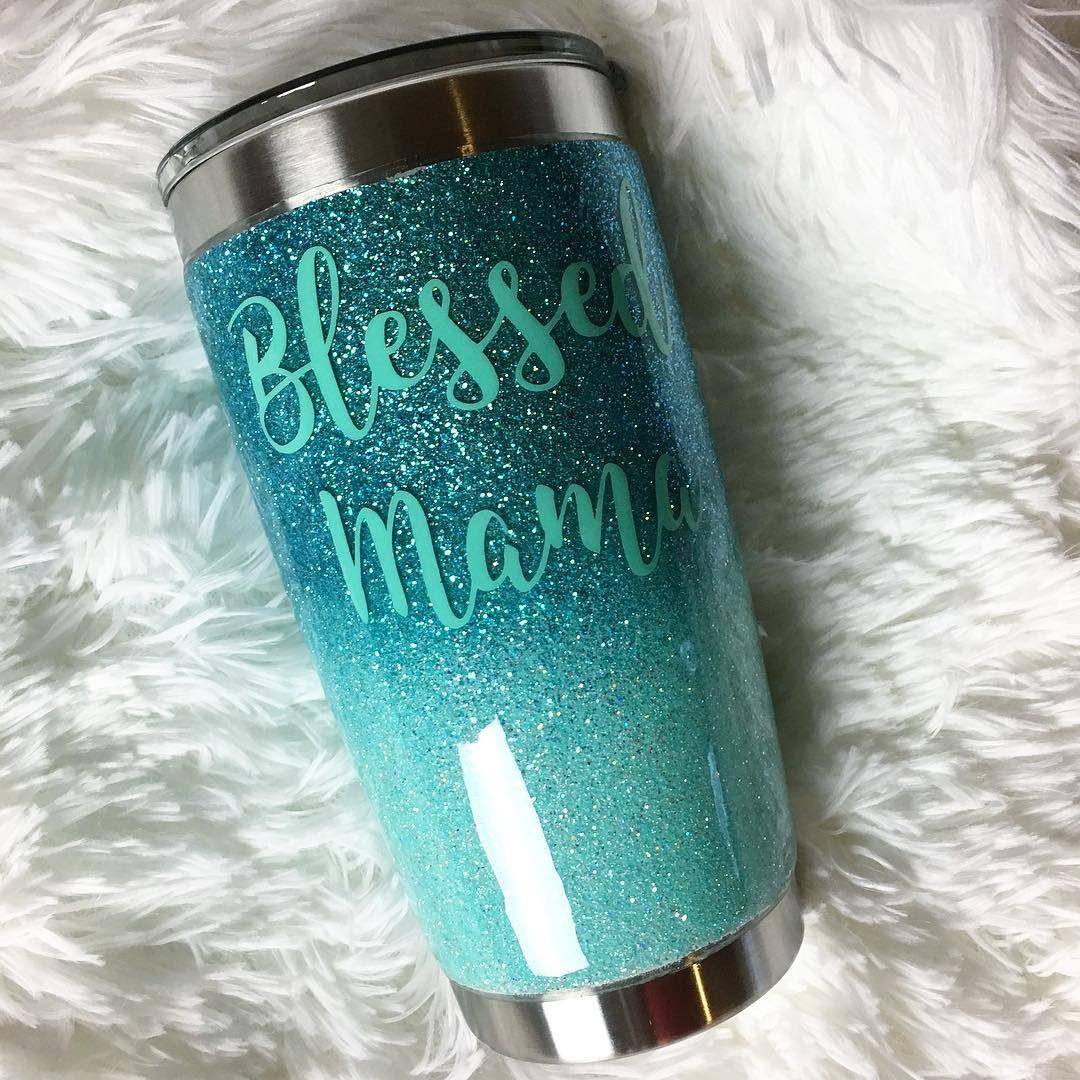 Best ideas about DIY Glitter Tumbler . Save or Pin Glitter YETI modestattire An underwater dream using Now.