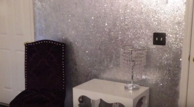 Best ideas about DIY Glitter Wall . Save or Pin How To Design Your Walls With Mod Podge And Glitter Now.