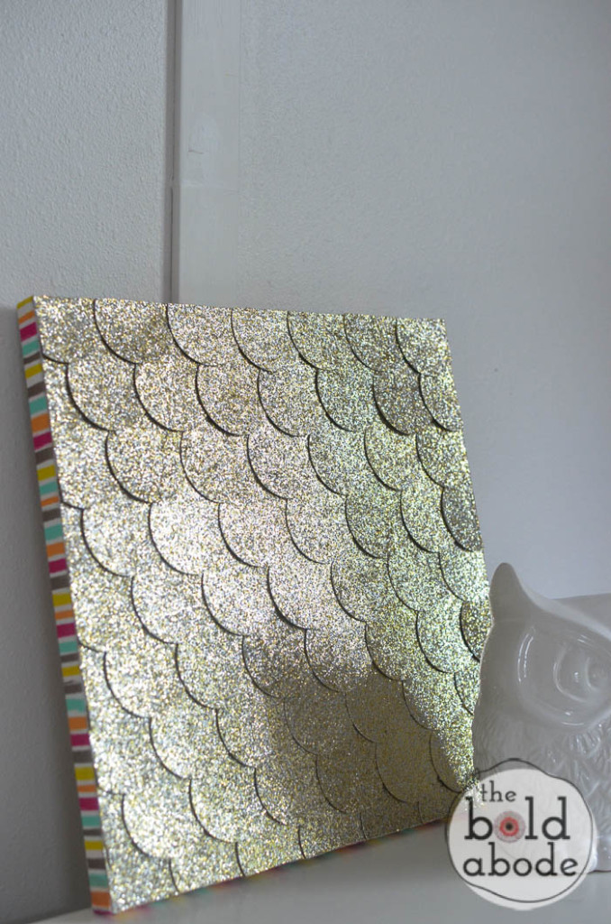 Best ideas about DIY Glitter Wall . Save or Pin 10 Easy Glitter Wall Art DIYs Now.
