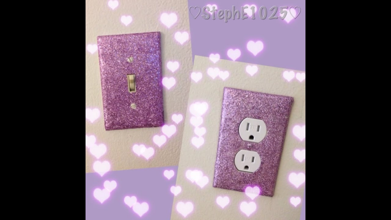 Best ideas about DIY Glitter Wall . Save or Pin DIY Glitter Wall Plates Now.