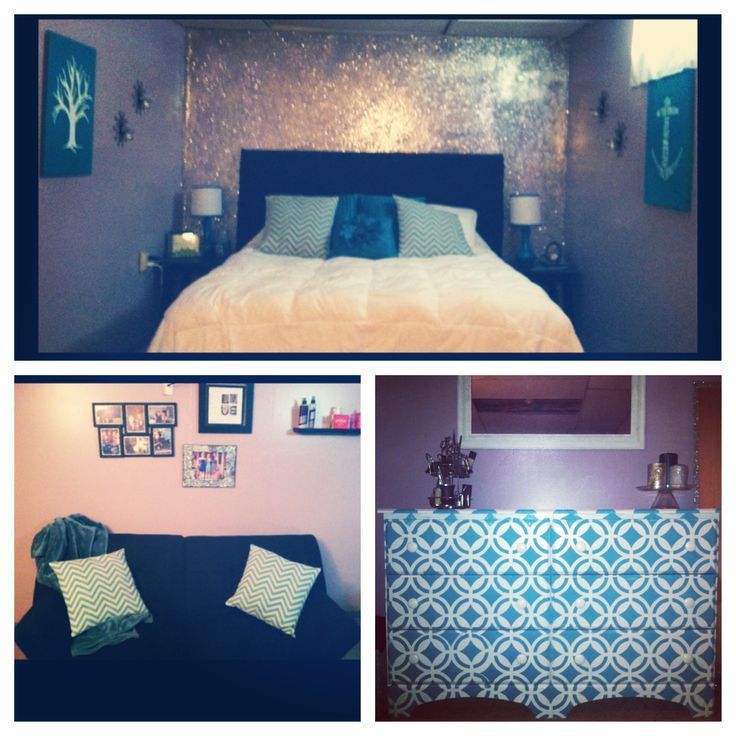 Best ideas about DIY Glitter Wall . Save or Pin DIY glitter wall upholstered headboard and upcycled Now.
