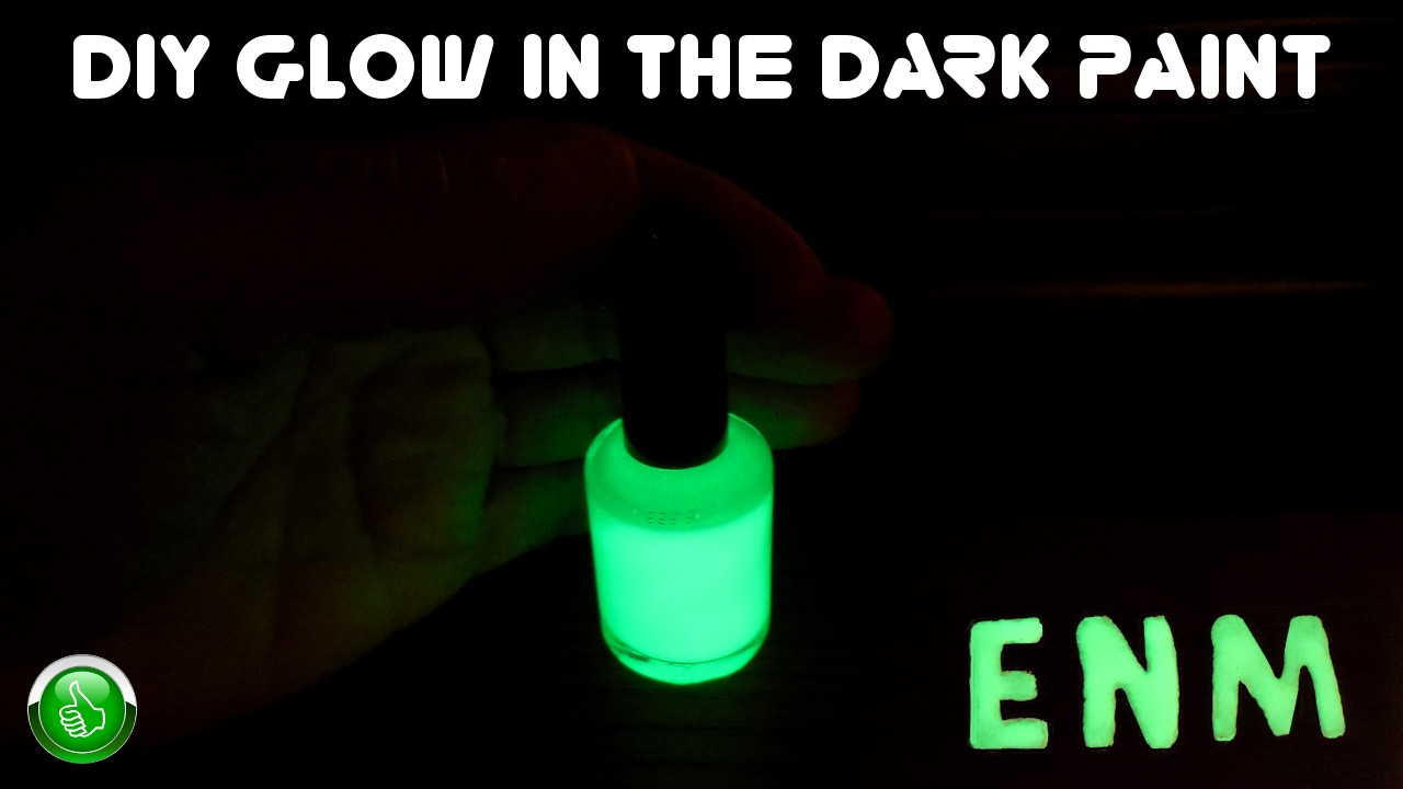 Best ideas about DIY Glow In The Dark Paint . Save or Pin DIY Glow In The Dark Paint High Luminescence Now.