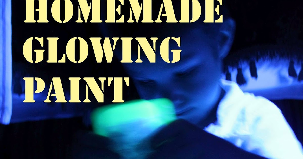 Best ideas about DIY Glow In The Dark Paint . Save or Pin Homemade Glowing Paint Learn Play Imagine Now.