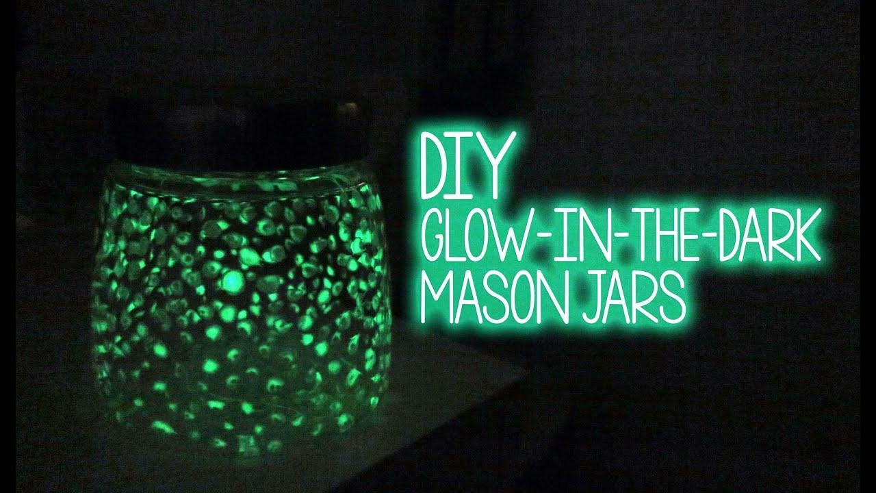 Best ideas about DIY Glow In The Dark Paint . Save or Pin DIY ♥ Glow in the Dark Glass Jar Now.