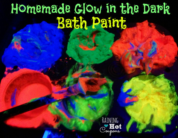 Best ideas about DIY Glow In The Dark Paint . Save or Pin Homemade Glow in the Dark Bath Paint Now.