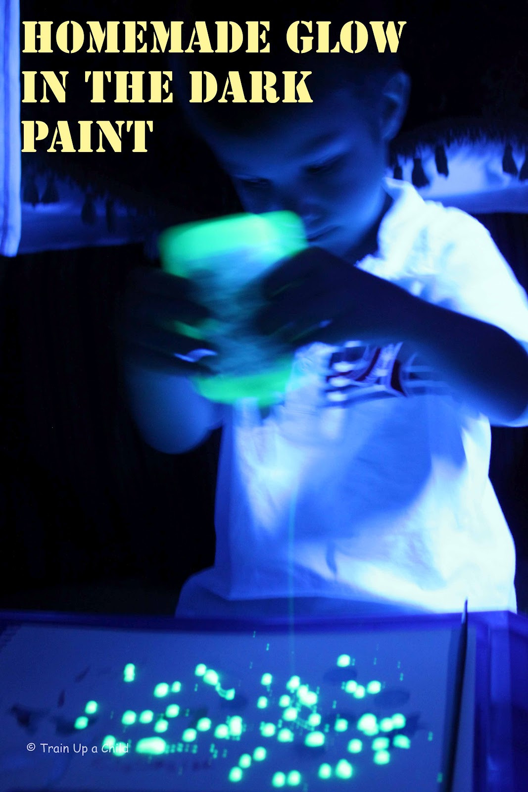 Best ideas about DIY Glow In The Dark Paint . Save or Pin Show and Saturday Link Up I Can Teach My Child Now.