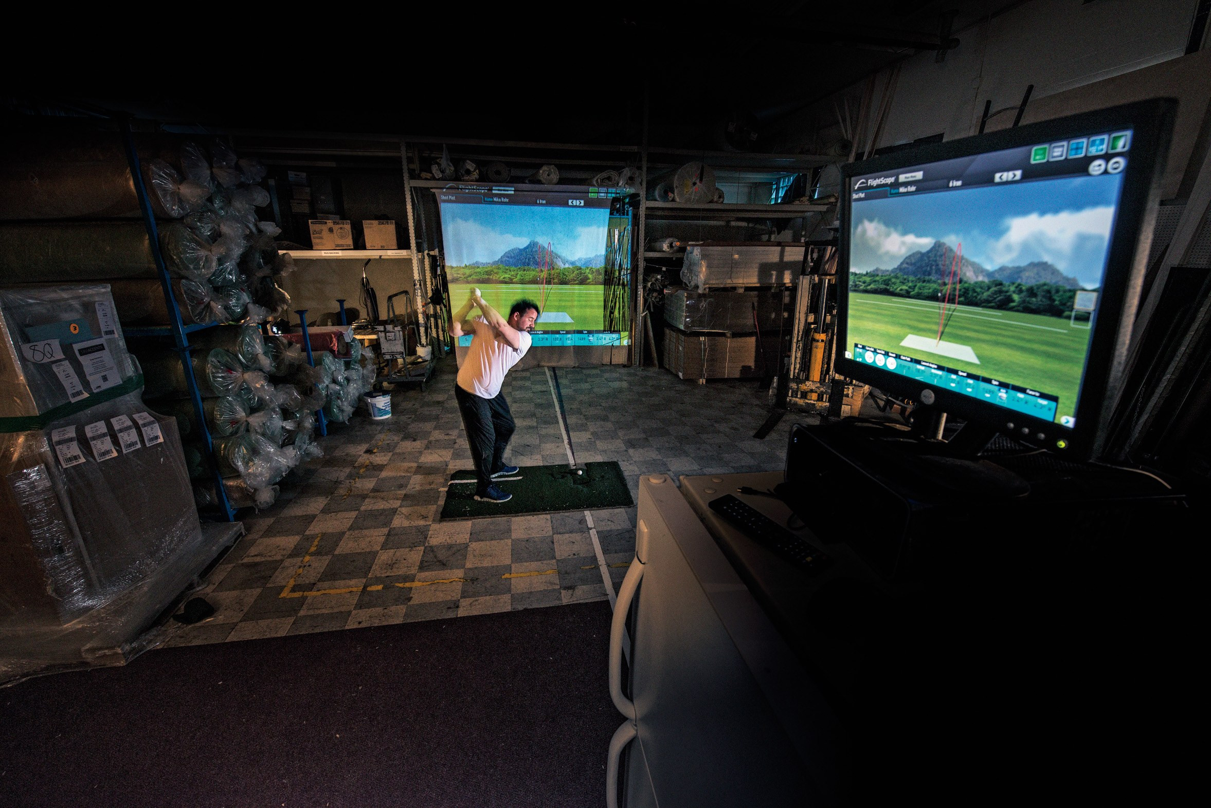 Best ideas about DIY Golf Simulator . Save or Pin Do It Yourself Golf How To Build Your Own Simulator Now.
