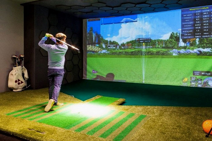 Best ideas about DIY Golf Simulator . Save or Pin How To Build a Home Golf Simulator For Under $2 000 Now.