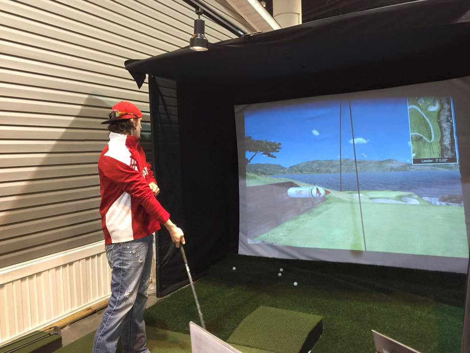 Best ideas about DIY Golf Simulator . Save or Pin Practice Sports PLAY inc and the 2016 Omaha Home Show Now.
