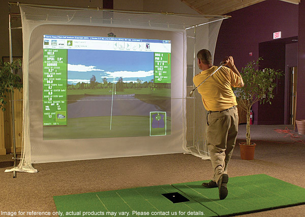 Best ideas about DIY Golf Simulator . Save or Pin Homemade Golf Simulator Homemade Ftempo Now.