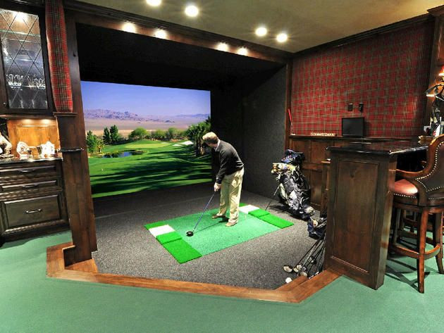Best ideas about DIY Golf Simulator . Save or Pin 17 Best images about Golf Simulators Screens and Room Now.