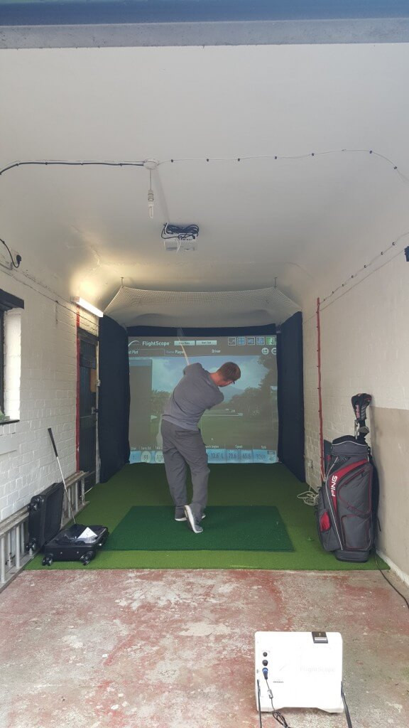 Best ideas about DIY Golf Simulator . Save or Pin FlightScope Installation for a private customer in Now.
