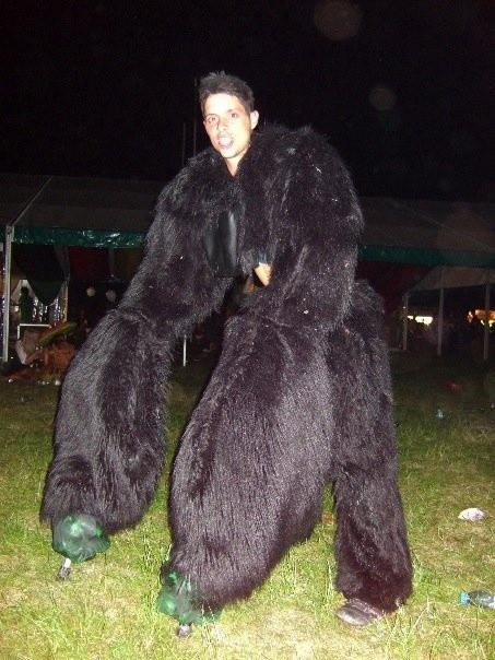 Best ideas about DIY Gorilla Costume . Save or Pin Gorilla Costume by James Sutton via Behance Now.