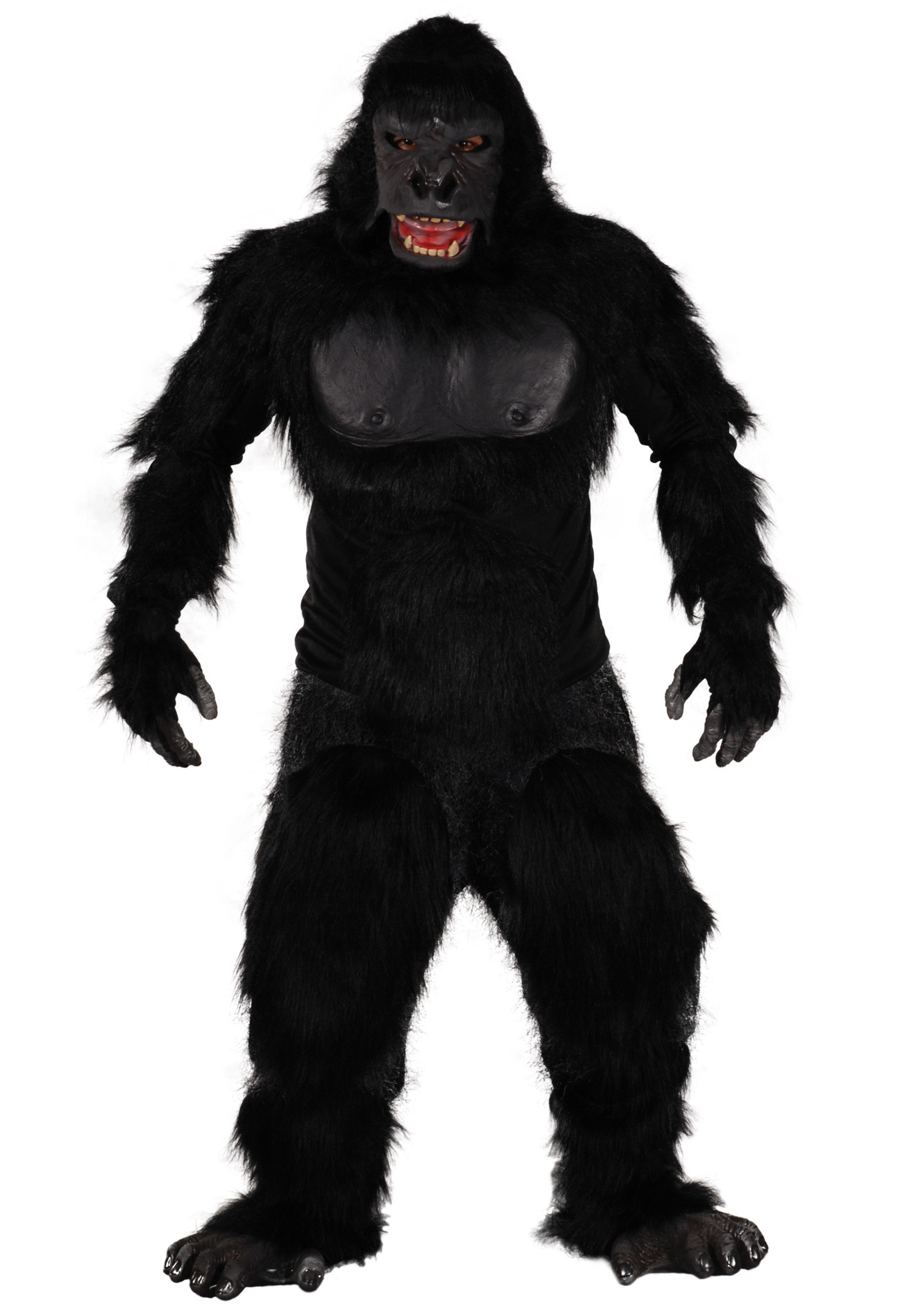 Best ideas about DIY Gorilla Costume . Save or Pin Two Bit Roar Gorilla Costume Now.