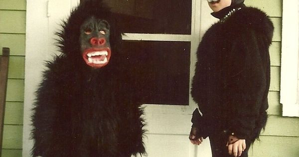 Best ideas about DIY Gorilla Costume . Save or Pin Gorilla And Cat Costume Now.