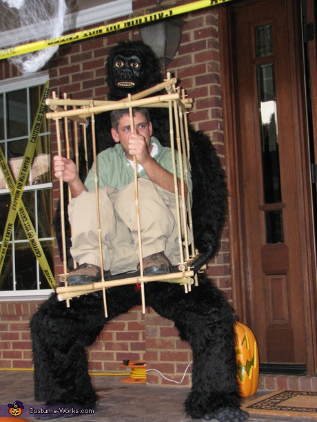 Best ideas about DIY Gorilla Costume . Save or Pin 65 Coolest DIY Illusion Costumes Now.