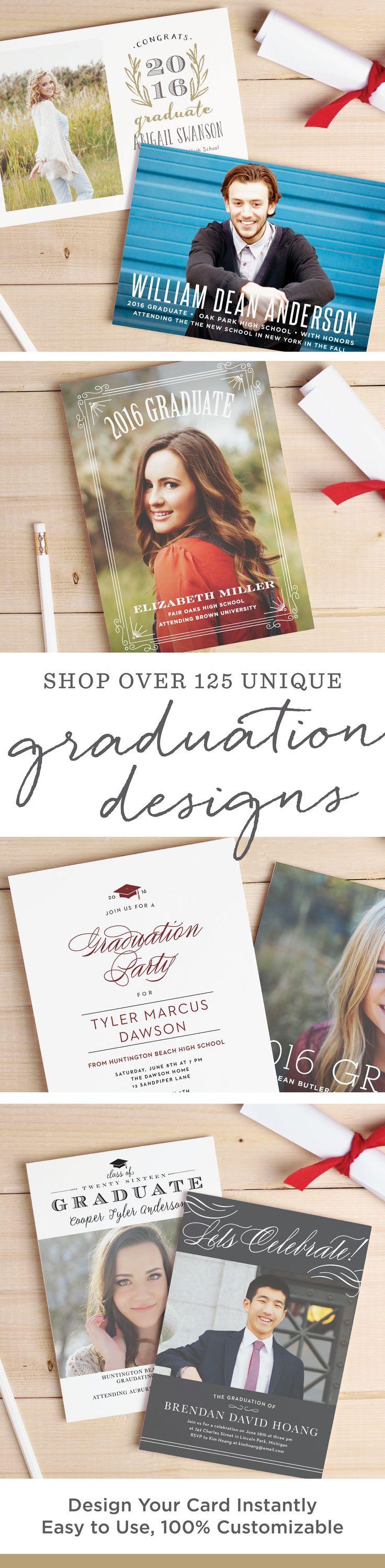 Best ideas about DIY Graduation Announcements . Save or Pin 46 best Printable DIY Graduation Announcements Templates Now.