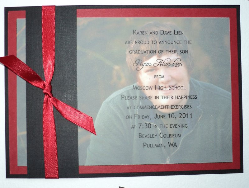 Best ideas about DIY Graduation Announcements . Save or Pin DIY High School Graduation Announcements Now.