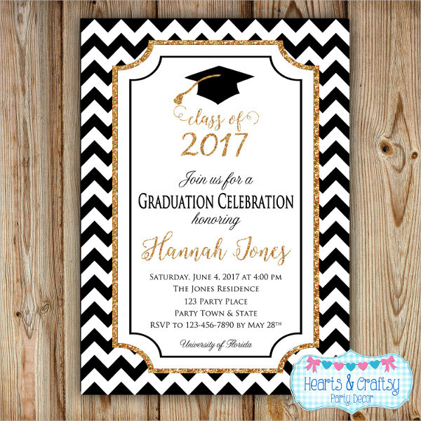 Best ideas about DIY Graduation Announcements . Save or Pin 31 Examples of Graduation Invitation Designs PSD AI Now.