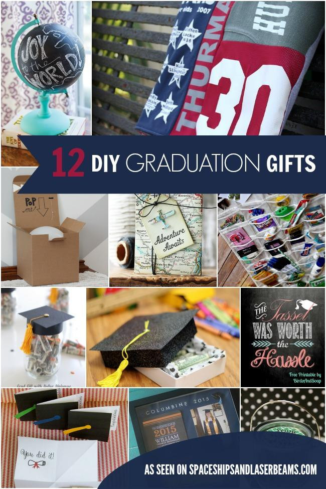 Best ideas about Diy Graduation Gift Ideas . Save or Pin 12 Inexpensive DIY Graduation Gift Ideas Spaceships and Now.
