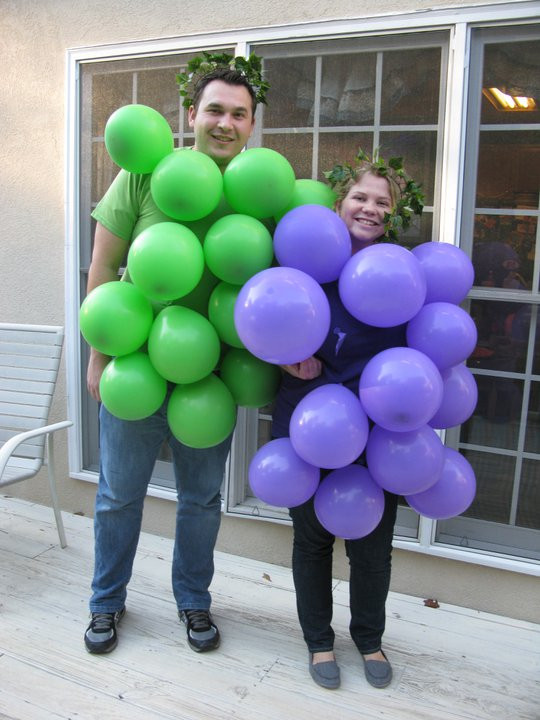 Best ideas about DIY Grapes Costume . Save or Pin 25 Super Last Minute Halloween Costumes That Will Blow Now.