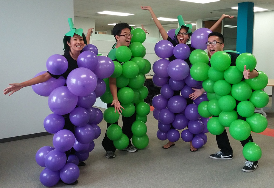 Best ideas about DIY Grapes Costume . Save or Pin 10 Last Minute DIY Halloween Costume Ideas Work Wear Wander Now.
