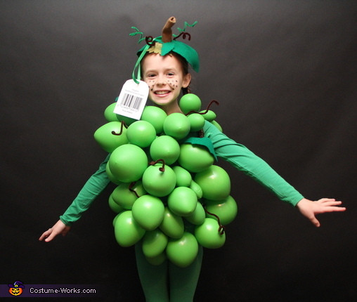 Best ideas about DIY Grapes Costume . Save or Pin Organic Grapes Halloween Costume Idea for Kids Now.